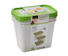 17 Aug 2053858 de memoria caja de almacenaje de plástico verde de frutas