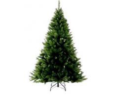 Festive para Crear un Ambiente Verde diseño navideño de Laponia Mezcla de piñas árbol de Navidad Artificial, 213,36 cm