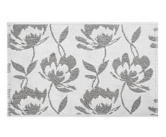 Spirella colección Blossom, Alfombrilla de Ducha 50 x 80,100% Algodón,Gris, 80 x 50 cm