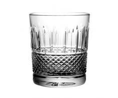 Crystal Julia 8666 vaso de whisky cristal al plomo 6 pcs, 280 ml