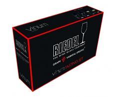 Riedel Vinum Tasting Set Copas de Vino, Cristal, Multicolor, 46.6x13.1x27.5 cm 4 Unidades