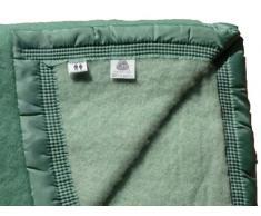 Comptoir du linge LAI522VER - Manta para cama, 2 Personas, color verde
