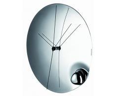 Bugatti Acqua - Reloj de pared (32 cm de diámetro, acero)