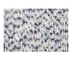 Spirella colección Kito, Alfombrilla de Ducha 55 x 65,80% Polyester, Microfibra, 20% Algodón,Multicolor, Ice-Berry, 65 x 55 x 17,5 cm