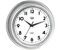 Trevi OM 3315 S Quartz wall clock Círculo Gris - Reloj de pared (AA, Gris, 32,3 cm)