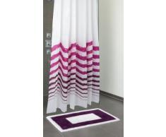 Susa cortina de ducha color: magenta/morado
