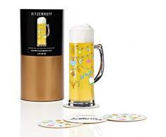 Ritzenhoff 1780050 - Vaso de cerveza, color multicolor