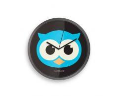Kikkerland Nights Owl - Reloj de pared, diseño de búho