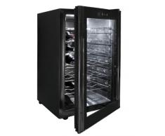 Lacor - 69175 - Armario refrigerador 28 Botellas Black Line 70w 65Litros