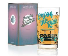 RITZENHOFF 3270029 Everyday Darling - Vaso de cristal (300 ml)