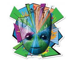 Marvel Groot Mosaico Wall Art, Multicolor