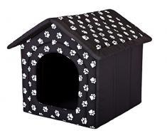 HOBBYDOG perro casa, tamaño 3, Negro con patas