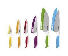 Zyliss ZE920242 - Juego de 6 cuchillos de cocina Comfort, acero inoxidable