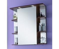 Simply Chelsea Armario con Espejo, Madera de Ciruelo, 24 x 66,8 x 70,4 cm