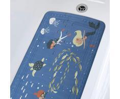 Spirella colección Scuba Diver, Alfombrilla de Ducha 71 x 36,PVC
