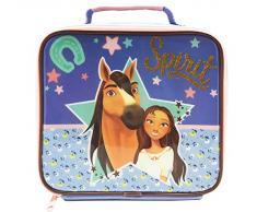 UNIVERSAL Lunch Bag Bolsa de Almuerzo Spirit, 600D poliéster, Morado, Talla única