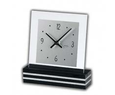 AMS t1107 Cuarzo Colgante de Reloj de Mesa, Madera, Multicolor, 30 x 24 x 12 cm