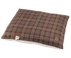 Colchón de perro Petface Country Check almohada, tamaño mediano
