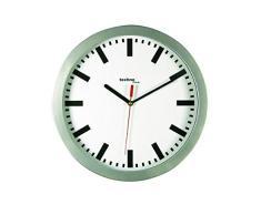 TechnoTrade WT-8800, Plata, 1x AA - Reloj de pared