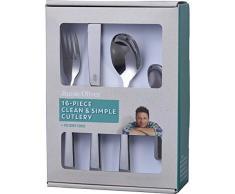 Jamie Oliver 556895 - Cubertería mezclada, pulido