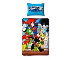 Character World Ropa de cama infantil «Superamigos» del mundo de personajes de DC Comics