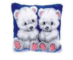 Vervaco diseño de los kit para cojín de oso Polar, Multi-color
