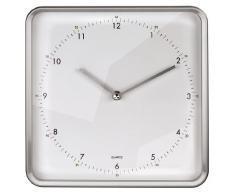 Hama 00104948, Plata, Blanco, Mignon AA, 750 g - Reloj de pared