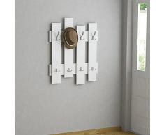 Best Seller Living Perchero De Pared Onda Blanco