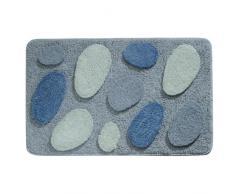 InterDesign Pebblz - Tapete, 86 x 53 cm, Color Azul