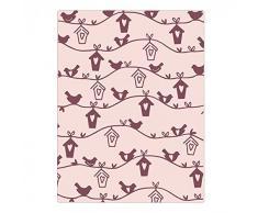 Sizzix Ellison Europe casa para pájaros por Samantha Barnett Tief – Plantilla para Estampados