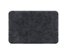 Spirella 70 x 120, Negro colección Brizzolo, Alfombrilla de Ducha, 100% Acrílico