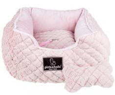 pinkaholic ártico Square de Nueva York II perro cama, marfil