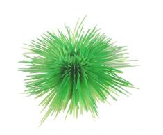 Sourcingmap Cerámica Plástico Base Acuario Artificial Planta, de 2,2 pulgadas, Verde