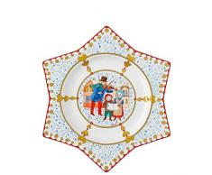 Hutschenreuther 02473-727312-10803 - Plato decorativo (porcelana, 25 cm), diseño navideño