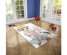 Oedim Alfombra Infantil Stay with Me para Habitaciones PVC | 95 x 165 cm | Moqueta PVC | Suelo vinílico | Decoración del Hogar | Suelo Sintasol | Suelo de Protección Infantil |