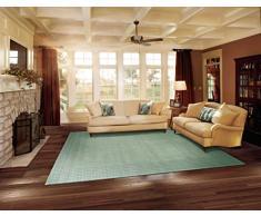 NOURISON Ki07 Cottage Grove (KI700) tapete Rectangular con Niebla, Lana, Mist, 2 ft 3-Inch x 7 ft 6-Inch
