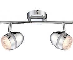 Globo manjola-Lámpara de techo de 2 lámparas led de 3 w, 128 V