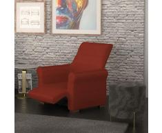PETTI Artigiani Italiani Rubì, Relax, Funda Sillon Elastica, 100% Made in Italy, 80 a 100 cm