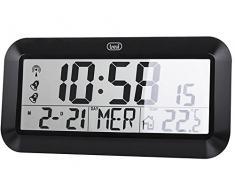 Trevi OM 3528 D Batería Negro - Estación meteorológica (LCD, Batería, AA/AAA, Alcalino, 1,5 V, Negro)