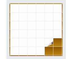 Adhesivo para azulejos para baño y cocina – 10 x 10 cm – Blanco Brillante – 240 adhesivos para azulejos para pared azulejos