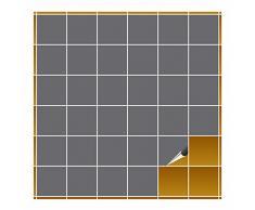 Adhesivo para azulejos para baño y cocina – 10 x 10 cm – plateado brillante – 400 adhesivos para azulejos para pared azulejos
