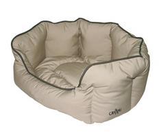 Croci mascota cama teflón, 66 cm), color marrón claro