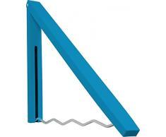 Bhp Perchero De Pared Azul 4,3x44x2,3-42cm
