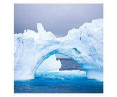 Apalis Iceberg - Mesa Auxiliar (55 x 55 x 45 cm), Color Negro