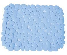 MSV Alfombra DE PVC para Fregadero-Azul Claro, 40x31x0.5 cm