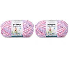 BERNAT - Manta para bebé (2 unidades, 300 g cada bola, 600 g)