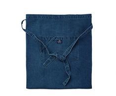 Lexington Company Delantal Bbq Jeans Azul Única