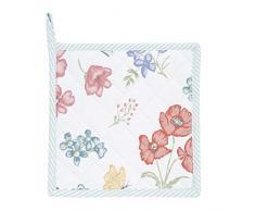 Clayre & Eef FF45 - Manopla de Cocina (algodón), diseño de Flores