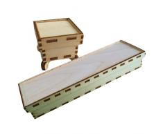 Petra s Manualidades (News a de bm10422s2 conjuntos de diseño para madera Baúles, 2 Varios