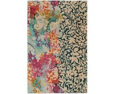 benuta Alfombra de fácil Cuidado para Pasillo y Otras Salas de Estar, algodón, Multicolor, 80x165 cm